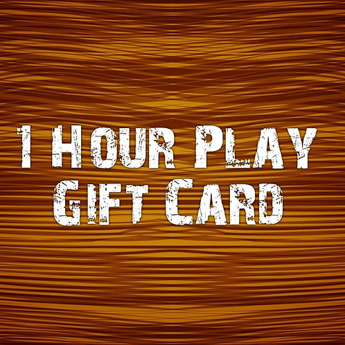 1 Hour Play Gift Card