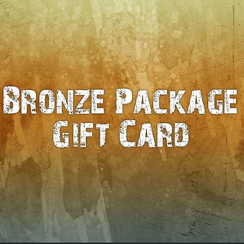 Bronze Package Gift Card