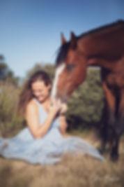 séance photo grossesse et cheval