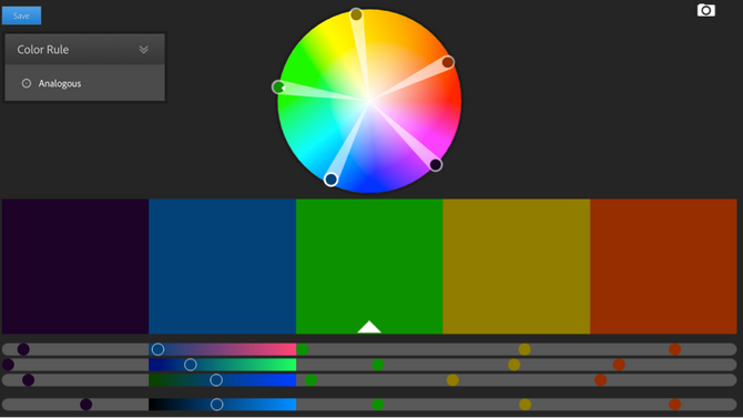 On Adobe Color