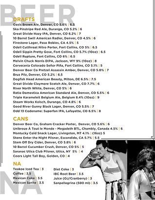 album menu 10.23.19 old food_beer & cock