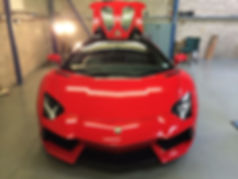 Lamborghini Detailing