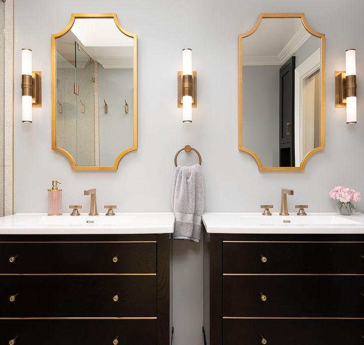 His + Her Master Bathroom