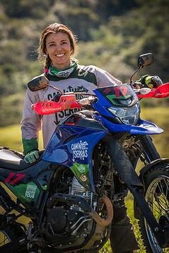 Moara Sacilotti, piloto e Instrutora Offroad YRA