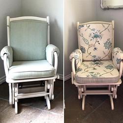 Rocking Chair for a baby boy nursery