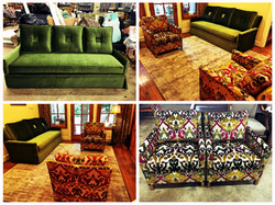 Couch snd Club Chairs