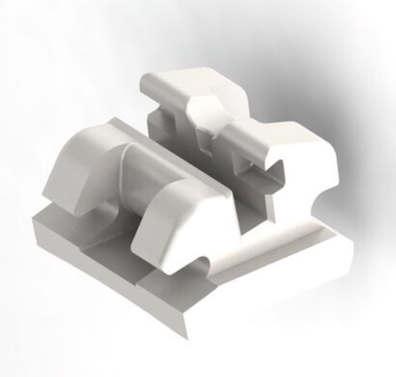 Ceramicbrackets aus Aluminiumoxid