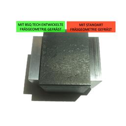 Bearbeitung von Stahlteilen mit besser Oberfläche