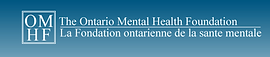 ontario mental health foundation logo, omhf logo