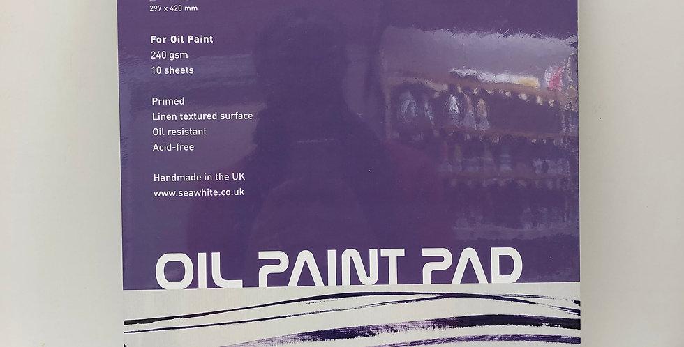 Seawhite Oil Paint Pad A3