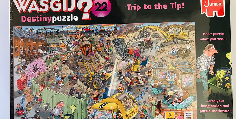 Wasgij 1000 piece puzzle Trip to the Tip