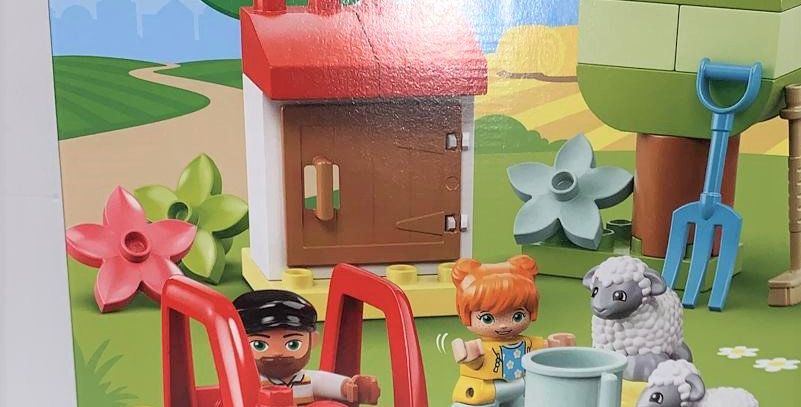 Duplo Farm Tractor and Animals