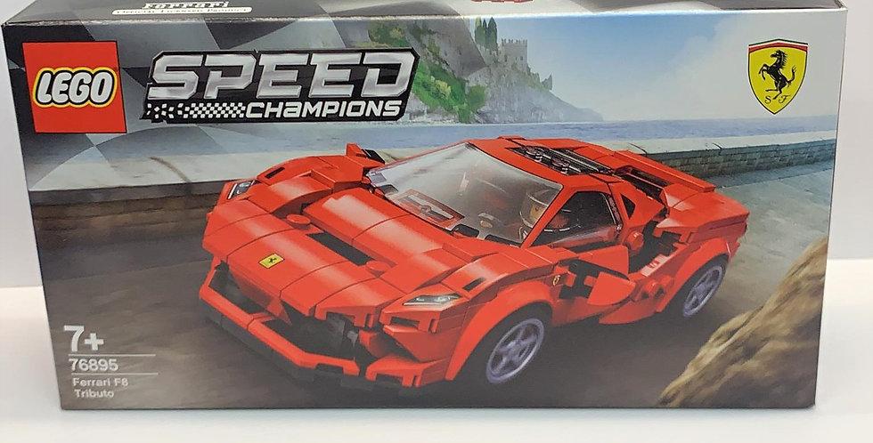 Speed Champions Ferrari F8 Tributo