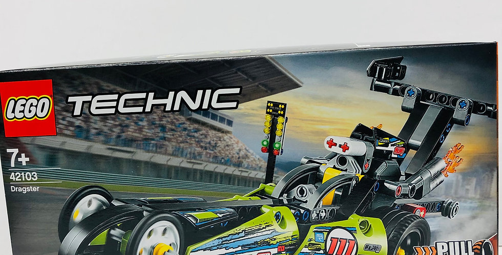Technic Dragster Age 8+