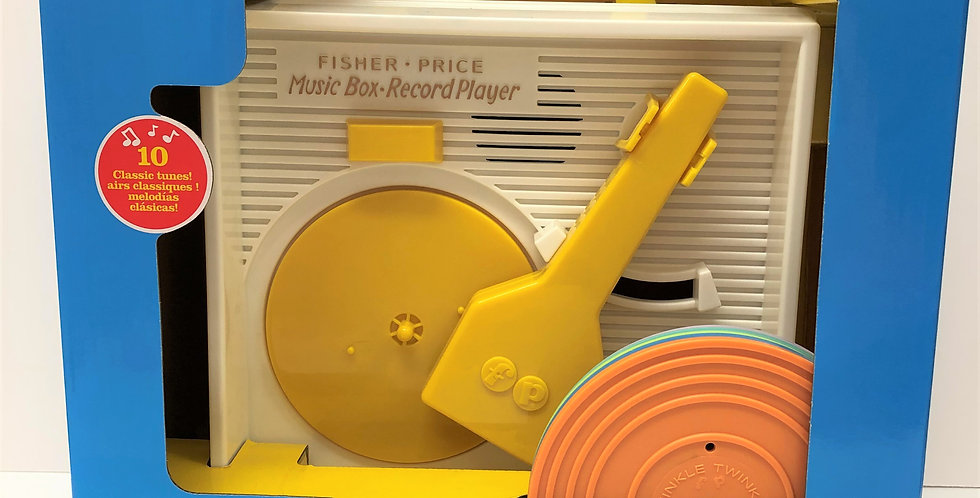 Fisher Price Record Player 18mths+