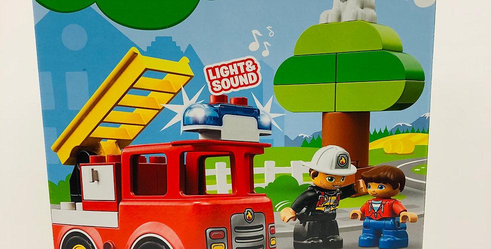 Duplo Fire Truck Age 2+