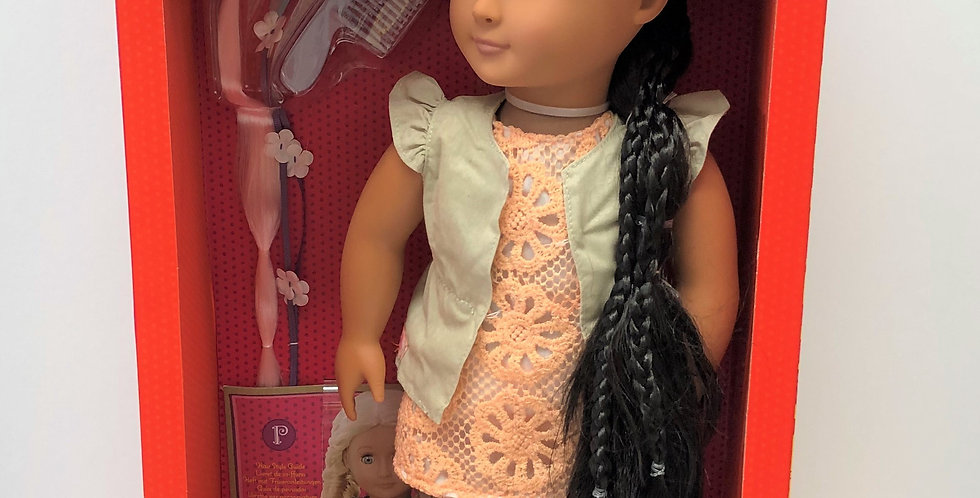 OG Hairplay Doll, Flora Age 3+