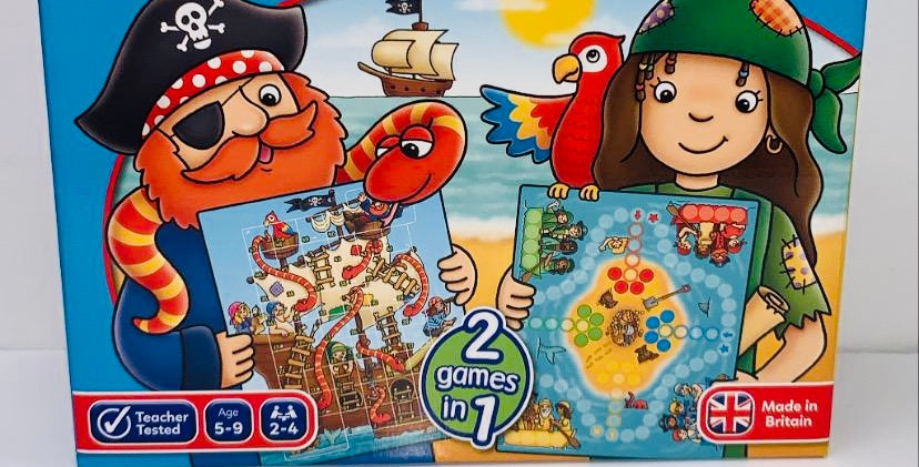 Orchard Toys Pirate Snakes & Ladders & Ludo age 5+