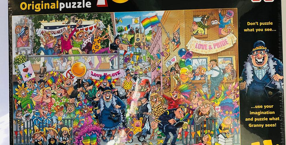 Wasgij 1000 piece puzzle A Piece of Pride