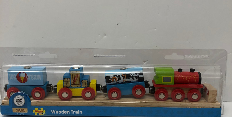 Big Jigs Goods Train age 3+