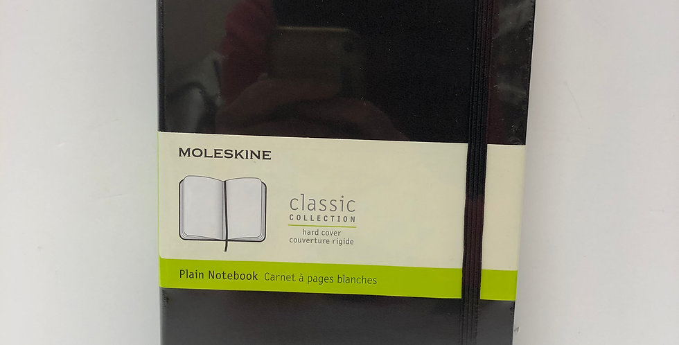 Moleskine Classic Plain notebook 21 x 13cm