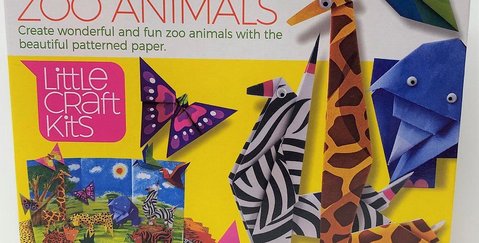 4M Origami Zoon Animals age 5+