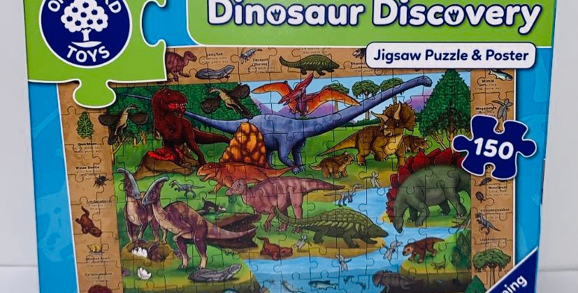 Orchard Toys Dinosaur Discovery puzzle