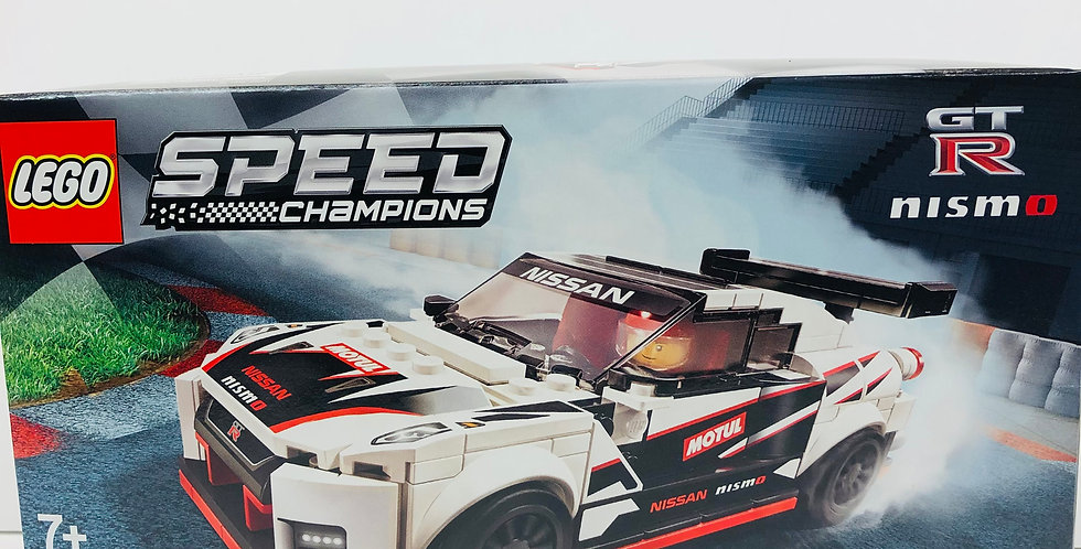 Speed Champions Nissan GT-R NISMO Age 7+