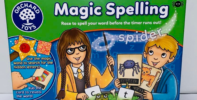 Orchard Toys Magic Spelling game age 5 - 7