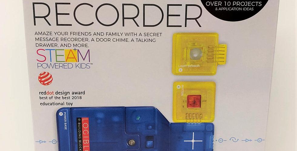 Logiblocs Secret Recorder age 5+