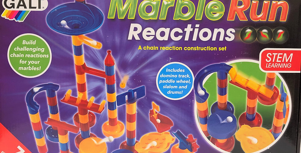 Galt Marble Run Reactions age 4+