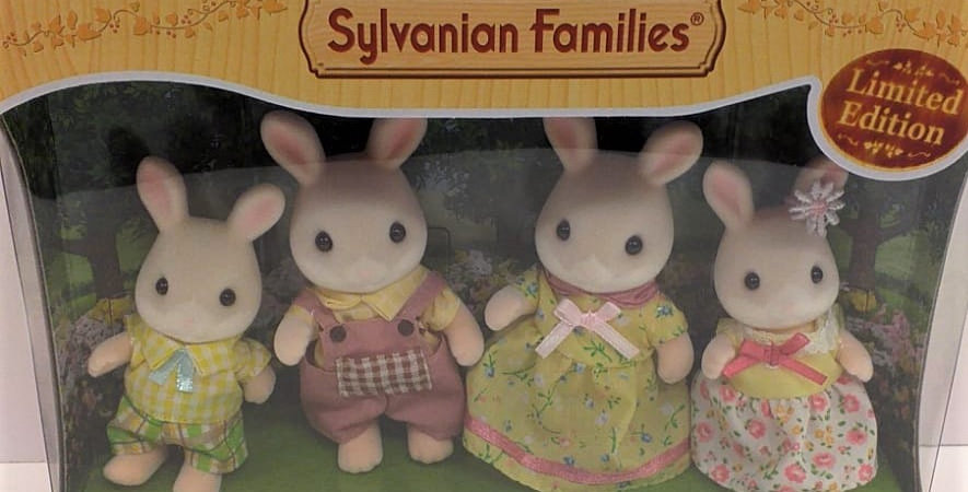 Sylvanian Families Limited Edition Marguerite Rabbit Family