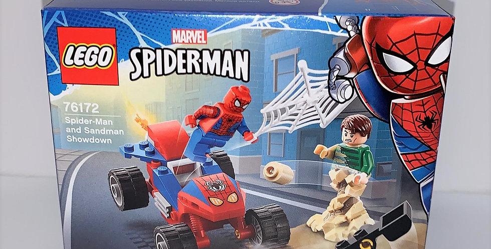 Juniors Spiderman and Sandman Showdown