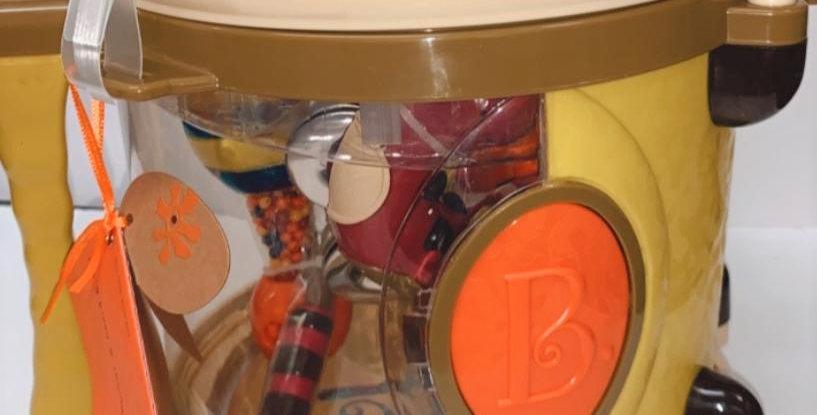 'B' Parum Pum Pum set of toddler musical instruments from 18 mths