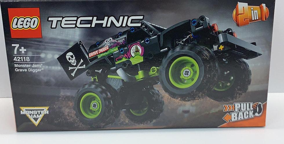 Technic Monster Jam Gravedigger