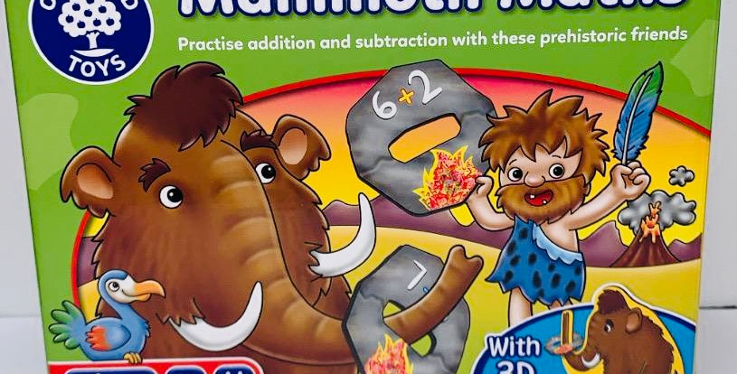 Orchard Toys Mammoth Maths game age 5-8