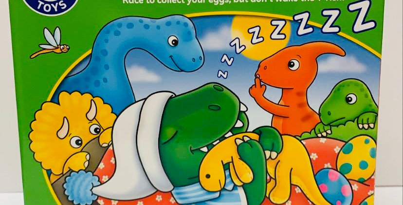 Orchard Toys Dino-Snore-Us game Age 3+
