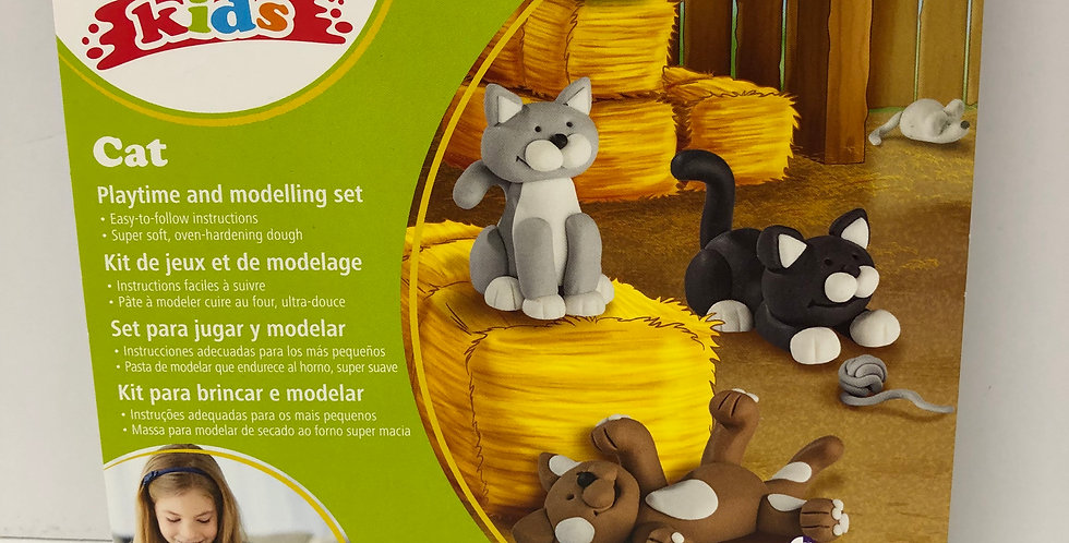 Fimo Kids Cats Form and Play