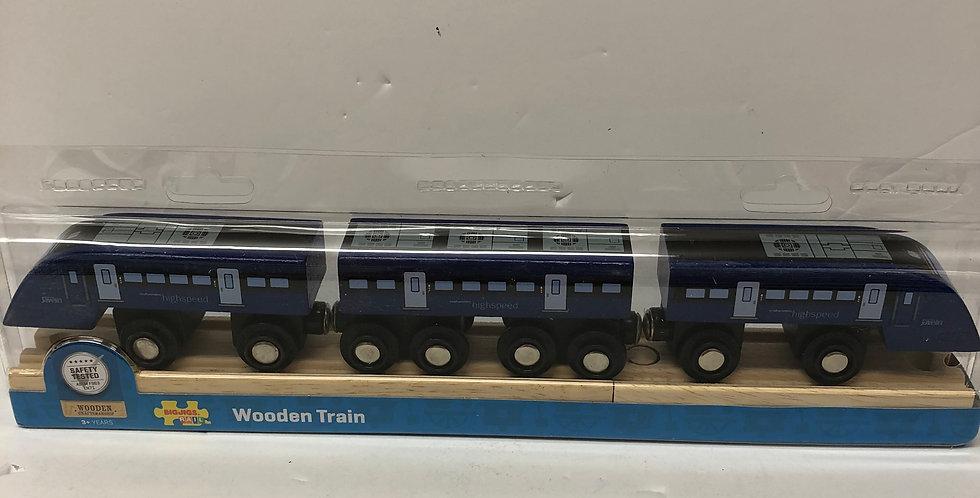 Big Jigs HS1 wooden train age 3+