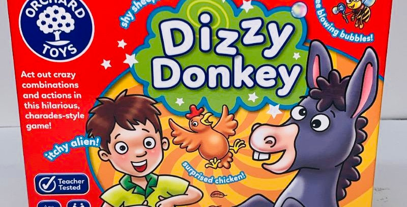 Orchard Toys Dizzy Donkey game age 5+
