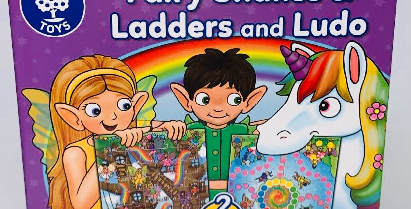 Orchard Toys Fairy Snakes & Ladders & Ludo age 5+