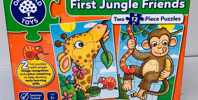 Orchard Toys First Jungle Friends puzzle