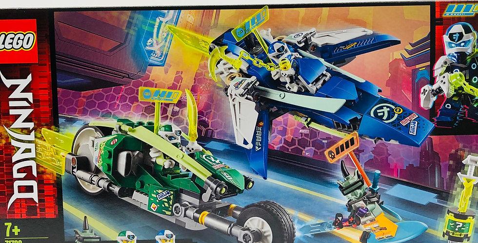 Ninjago Jay and Lloyd's Velocity Racers Age 7+