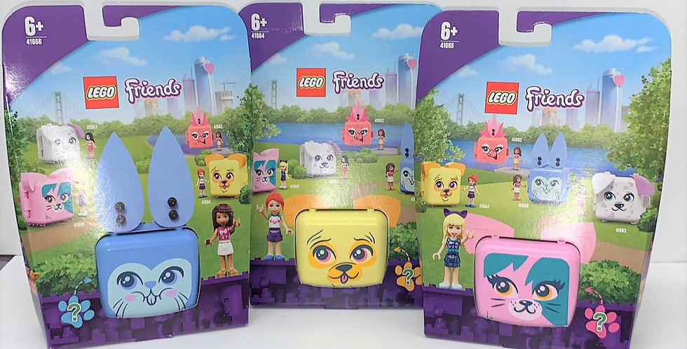 Friends Pet Play Cubes