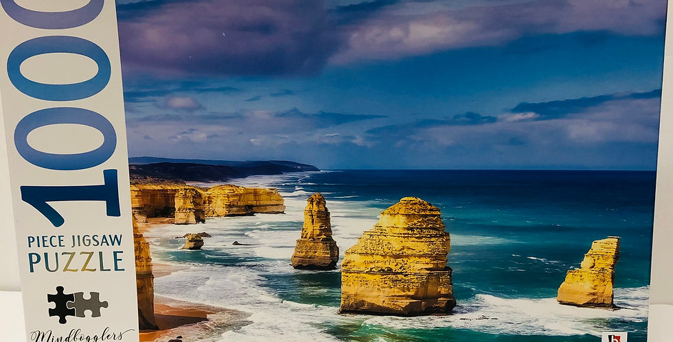 Mindbogglers 1000 Piece Puzzle: Twelve Apostles Australia