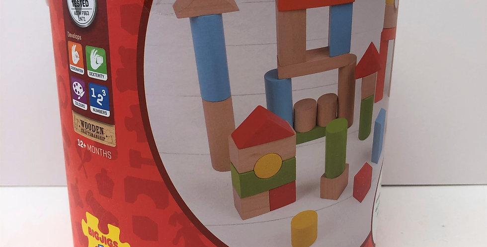 Big Jigs Drum of Bricks Age 12 months+