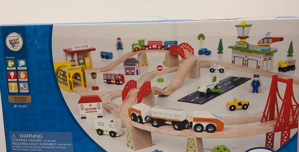 Big Jigs Transportation Train Set Age 3+