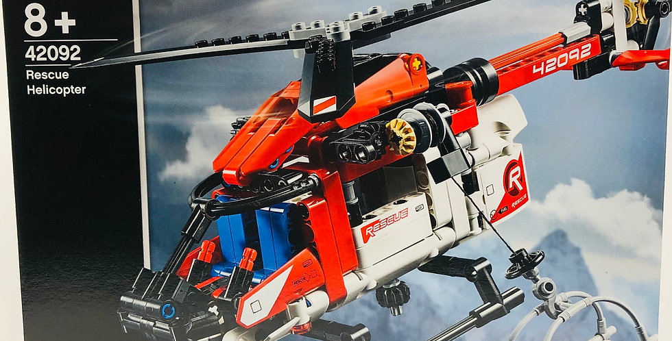 Technic Rescue Helicopter Age 8+