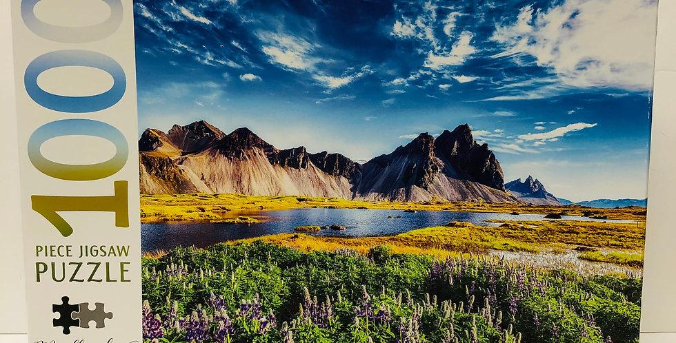 Mindbogglers 1000 Piece Puzzle: Stokksnes Cape Iceland