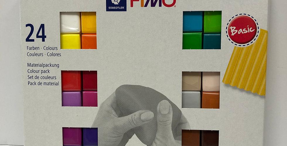 Fimo 24 Colour Set age 5+